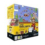 Nintendo Wii U Premium Pack Black + Super Mario Maker (vorinstalliert) + Artbook + amiibo
