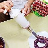 Wurstfüller,LiebHome Wurstfüllmaschine Wurstpresse perfekt für Hausgemachte Wurst