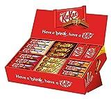 Nestlé Party Box (mit 6 Sorten KitKat und Lion, Schokoriegel-Mix, für große und kleine...