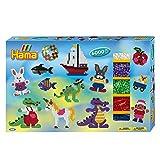 Hama 3028 - Geschenkpackung Allround, circa 6000 Bügelperlen und 3 Stiftplatten