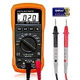 Digital Multimeter, Crenova MS8233D Auto Range AC Spannungsprüfer Tragbare Prüfvorrichtung Messung...
