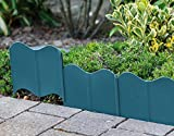 Rasenkante (B x H): 16 x 14 cm Gesamtlänge: 310 cm grün