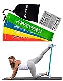 Fitnessbänder Set 4-Stärken by ActiveVikings® - Ideal für Muskelaufbau Physiotherapie Pilates...