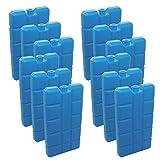 96 Stück NEMT Kühlakkus Kühlelemente je 200ml für Kühltasche oder Kühlbox bis 12 h Kühlpack...