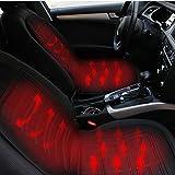 Auto beheiztes Kissen Winter Auto Heizkissen Cover Hot Warmer Getrennt Control HI / LO-Modus für...
