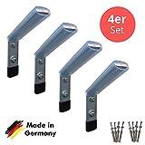 Reifen Wandhalterung 4er Set - BASIC - Halterung für Alufelgen / Stahlfelgen - Ordnungssystem für...