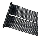 ZELSIUS Solarheizung Poolheizung Sonnenkollektor Solarabsorber Solarmatte für Swimming Pool ca. 600...