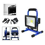VINGO® 20W LED AKKU Strahler Balu IP65 3000K-3500K Baustrahler Handlamp Arbeitslampe Arbeitsleuchte...
