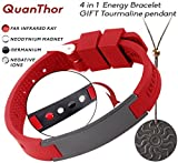 EMF Protection Anti Radiation BRACELET 4 in 1 (Pendant BONUS). Negative Ions, Germanium, Far...