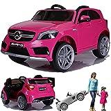 simron Mercedes-Benz A45 AMG SUV Ride-On 12V Kinderauto Kinderfahrzeug (Pink/Rosa)