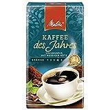 Melitta Gemahlener Röstkaffee, Filterkaffee, vollmundig mit nussiger Note, kräftiger Röstgrad,...