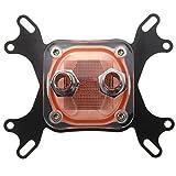 Computer CPU Wasserkuehler - SODIAL(R)50mm Transparente Deckel Computer CPU Wasserkuehler