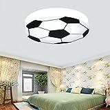Waineg Kinderzimmer Licht Kreative Fußball Deckenleuchte Moderne LED Junge Mädchen Augenschutz...