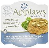 PET-158066 Applaws Cat Schicht Thunfisch & Sardelle (70 g) Packung mit 12 Stück