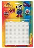 Hama 4553 - Stiftplatten zum Zusammenstecken, quadratisch, 4 Set, weiß