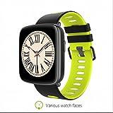 Fitness Tracker Smartwatch Schlaf Systemüberwachung Benachrichtigung Warnungen LCD Touch Screen...