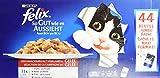 Felix So gut wie es aussieht in Gelee Katzennassfutter (mit Huhn, Rind, Ente, Lamm), 1er Pack (1 x...