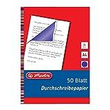 50 Blatt Durschreibepapier / Durchschlagpapier / blau-violett / A4