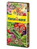 Floragard Bio Mini Garten ohne Torf 40 L • Universalerde • für Balkon, Terrasse oder...