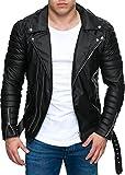 Reichstadt Herren Biker Jacke RS001 schwarz XS