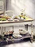 Villeroy & Boch Mariefleur Serve & Salad Schale flach / Hochwertige Schale aus weißem Porzellan mit...