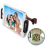 CE-Link für KFZ-Kopfstützen Tablet Halterung und Handyhalterung, Universal Handy Halter und iPad...
