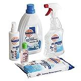 Sagrotan Desinfektionsset – Hygienespray, Wäschespüler, Reinigungstücher, Desinfektionsreiniger...