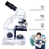 Kinder Mikroskop, Fozela 80x 200x 450x Vergrößerung Wissenschaft Mikroskop Mikroskopie Kit...