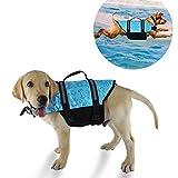 YMTECH Hund Rettungsweste, Schwimmtraining Hundeweste, Schwimmweste für Hunde (S)