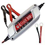 Dino 136300 Kraftpaket Batterieladegerät für KFZ PKW Auto Motorrad 12V-5A