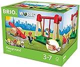 BRIO World 33948 - Village Spielplatz, bunt