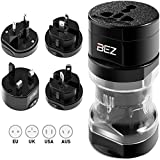 BEZ® Travel Adapter / Reisestecker Adapter / Universal Reiseadapter / Internationaler Stecker [US...