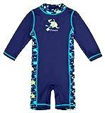 Baby-Badebekleidung langärmliger Einteiler mit UV-Schutz 50+ und Oeko-Tex 100 Zertifizierung in...