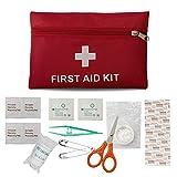 Erste-Hilfe-Set Reise Notfalltasche Wasserdicht Erste Hilfe Tasche18 Stück Mini Small First Aid...