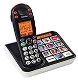 Topcom Bildtasten Telefon (schnurlos) - mit 10 Kurzwahltasten und Großtasten -...