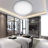 VINGO 50W LED Kristall Deckenleuchte Sternenhimmel Kaltweiß Starlight Deckenbeleuchtung Wohnzimmer...