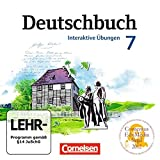 Deutschbuch 7. Schuljahr Gymnasium. Übungs-CD-ROM zum Arbeitsheft. Östliche Bundesländer und...