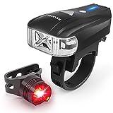Led Fahrradbeleuchtung USB Set Fahrrad Licht mit CREE XPG-2 LED Beads Super Hell Frontlicht mit USB...