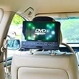 Auto Kopfstützenhalterung für Drehgelenk & Flip 10 Zoll DVD-Player Kfz Halterung Kopfstütze - von...