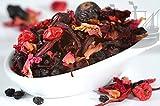 Rote Johanna Früchtetee, 100% Früchte, PREMIUM Früchte, ohne künstliche Aromen, warm & kalt,...