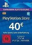 PSN Card-Aufstockung | 40 EUR | PS4, PS3, PS Vita Playstation Network Download Code - deutsches...