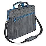 CSL - Notebooktasche für Notebooks bis 13,3 Zoll (33,7cm) | Laptop Tasche / Schultertasche | mit...