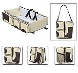Wickeltasche Baby Reisebett tragbar Wasserdicht Wiege Multifunktional mit Taschen von Sicherheit...