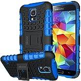 Galaxy S5 Hülle,S5 Hülle ykooe (TPU Series) Dual Layer Hybrid Handyhülle Drop Resistance Handys...