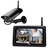 SWITEL HS2000 Digitales HD-Funküberwachungssystem, wetterfeste Außenkamera. Großer...