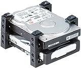 Mod-it Festplattenhalter: Festplatten-Halterung für 2,5' & 3,5' HDDs (Wechselrahmen)