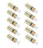 Minger 2.5W G4 LED Lampen, Ersatz für 20W Halogenlampen, 180lm, Warmweiß, 3000K, 2835 SMD...