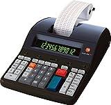 Triumph-Adler B4997000 Tischrechner Druckender, 12-stellig, schwarz