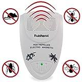Ruichenxi ® Plug-in für elektronische Schädlingsbekämpfung Eliminator Ultraschall Nager und...