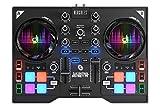 Hercules DJ Control Instinct P8 (2-Deck DJ Controller, 8 Performance-Pads, integr. Soundkarte,...